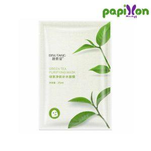 ماسک ورقه ای پاک کننده چای سبز بیسوتانگ