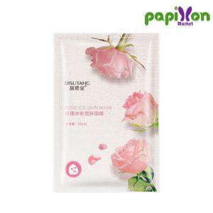 ماسک ورقه ای خنک کننده گل رز بیسوتانگ