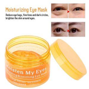 ماسک چشم پرتقالی بیوآکوا