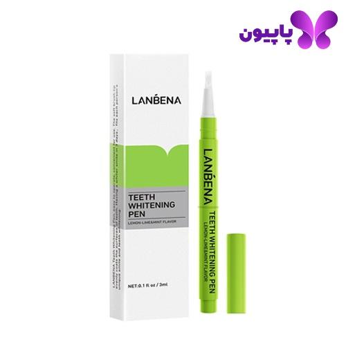 قلم سفیدکننده دندان لیمو و نعنا لانبنا