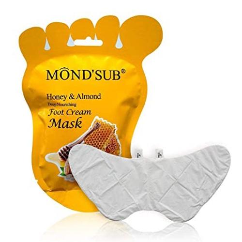 ماسک پا عسل و بادام موندساب